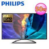 【Philips 飛利浦】50型 FHD 聯網顯示器+視訊盒 50PFH5060 (含運無安裝)