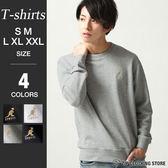 長袖大學T運動衫
