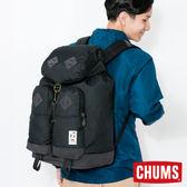 CHUMS 日本 Bozeman 口袋後背包 黑 CH602395K001