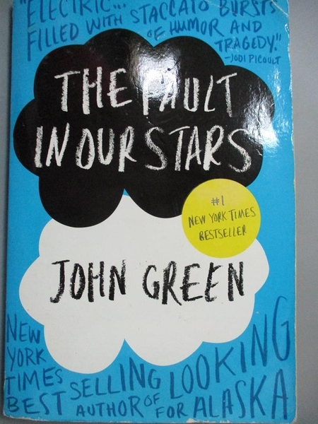 【書寶二手書T9/原文小說_HOM】The Fault in Our Stars_John Green