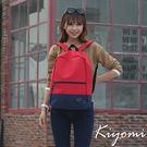 後背包 澀谷街頭日本女大學生 紅色 KIYOMI KB004-RD