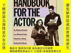 二手書博民逛書店A罕見Practical Handbook For The Actor-演員實用手冊Y436638 Melis
