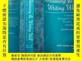 二手書博民逛書店Reasoning罕見& Writing Well:a rhetoric,research guide,reade
