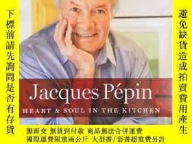 二手書博民逛書店Heart&Soul罕見in the Kitchen(全綵圖,英