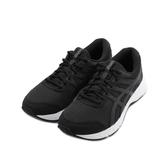 ASICS GEL-CONTEND 6 4E 寬楦慢跑鞋 黑白 1011A666-001 男鞋 鞋全家福