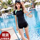 得來福泳衣,G385泳衣青春綠二件式泳衣游泳衣泳裝比基尼加大泳衣正品有到3L,售價850元