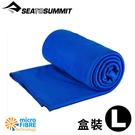【Sea To Summit澳洲 口袋型抗菌快乾毛巾 L《盒裝/豔藍》】STSAABPOCT/吸水毛巾/抗菌毛巾/速乾毛巾