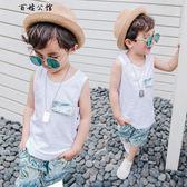 童裝男童夏季2-3-7周歲韓版背心  百姓公館