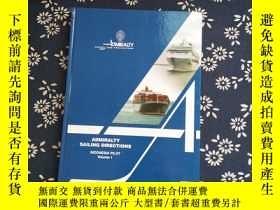 二手書博民逛書店Admiralty罕見Sailing Directions IN
