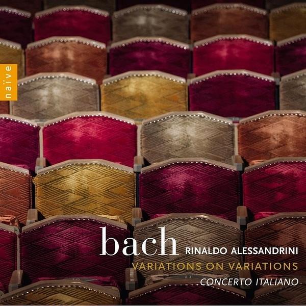 【停看聽音響唱片】【CD】阿列山德里尼/巴哈:給弦樂小合奏團的郭德堡變奏曲,帕薩卡利亞舞曲