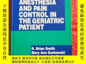 二手書博民逛書店ANESTHESIA罕見AND PAIN CONTROL IN