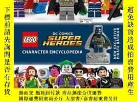 二手書博民逛書店Lego罕見Dc Comics Super Heroes Character EncyclopediaY256