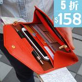 (全館一件免運)DE shop 中短夾 多功能短款卡包護照 證件旅行包(X-311)