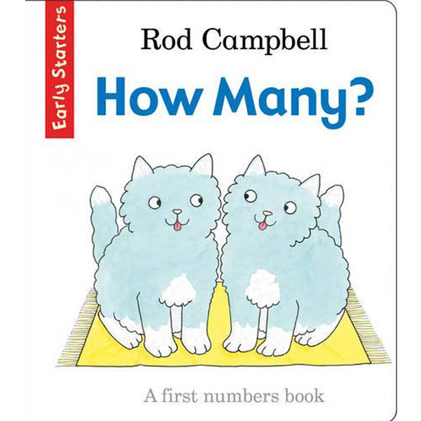 Early Starters:How Many? 寶貝!數一數有幾隻呢?學習書