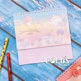 正版三麗鷗 KIKI&LALA 雙子星 2020桌曆 站立式月誌 日曆年曆記事本計劃本 COCOS C2020