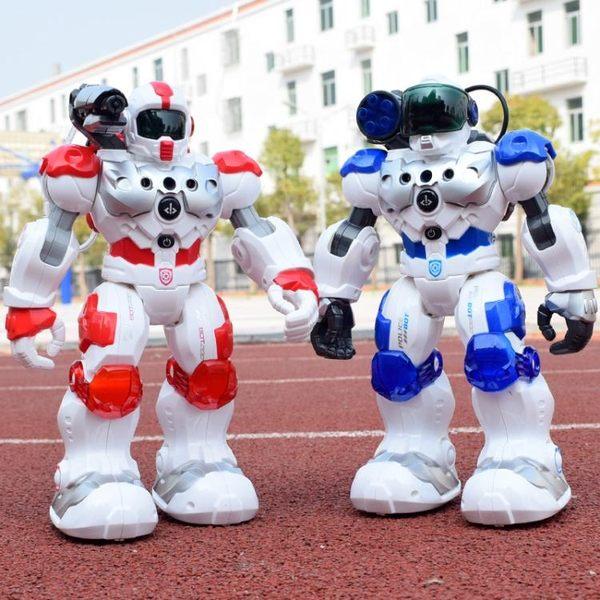 智慧遙控手勢感應機器人玩具 新威爾機器人消防戰士編程故事跳舞igo 溫暖享家