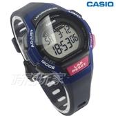 CASIO卡西歐 LWS-1000H-2A 慢活首選輕量型混色運動休閒電子錶 女錶 兒童錶 藍x桃紅 LWS-1000H-2AVDF