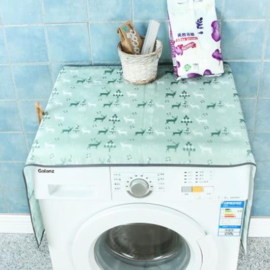 ✭慢思行✭【P352】聖誕鹿印花防塵罩 洗衣機 多功能 防汙 防曬 收納 洗衣機罩 獨立