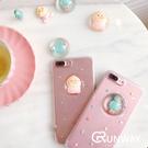【R】可愛女孩屁桃立體水球 iPhone...