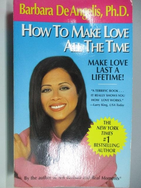 【書寶二手書T4/原文小說_ADF】How to Make Love all the Time_Barbara De Angelis