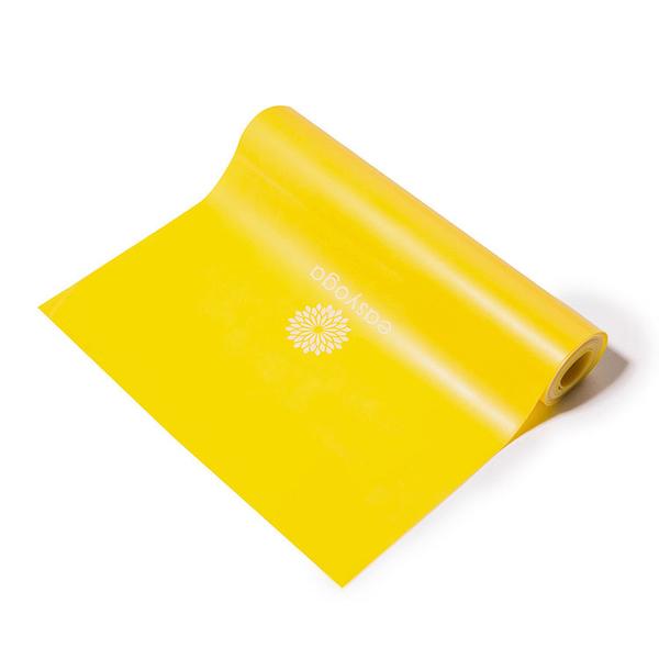 easyoga 瑜珈彈力帶 瑜珈拉力帶 基礎型 - 黃色