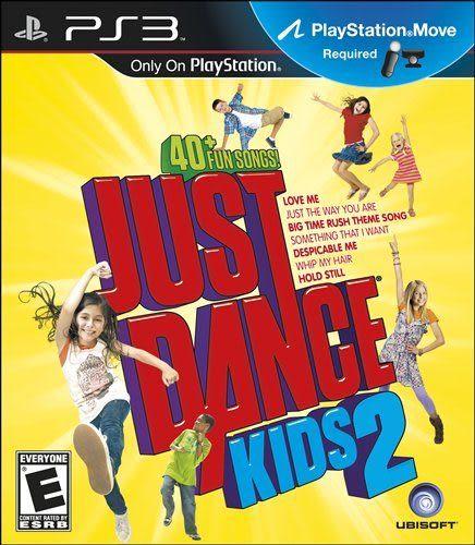 PS3 舞力全開:兒童版2 (Move必須) -英文美版- Just Dance kids 2