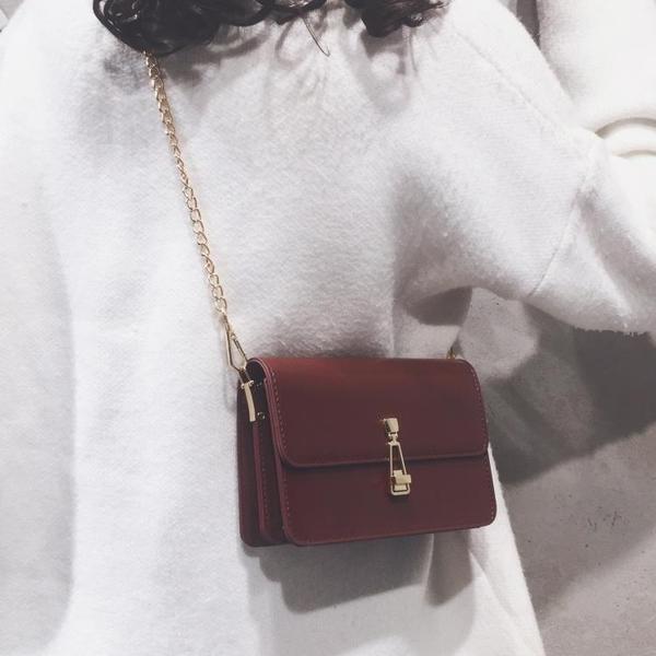 法國小眾包包女2021新款網紅ins百搭小方包高級感鏈條單肩斜挎包 【夏日新品】