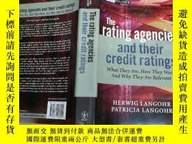 二手書博民逛書店The罕見Rating Agencies and Their C