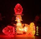 LED財神燈蓮花燈佛供燈供佛燈長明燈仙家菩薩旺財財神燈供燈 琉璃美衣
