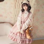 洛麗塔洋裝連身裙Lolita吊帶人形師【奇趣小屋】