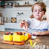 便當盒 飯盒兒童日式便當盒微波爐加熱午餐便攜保溫學生 交換禮物