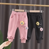女童褲子 女童褲子秋冬款休閒褲兒童長褲1韓版3嬰幼兒外穿女寶寶褲洋氣 艾維朵