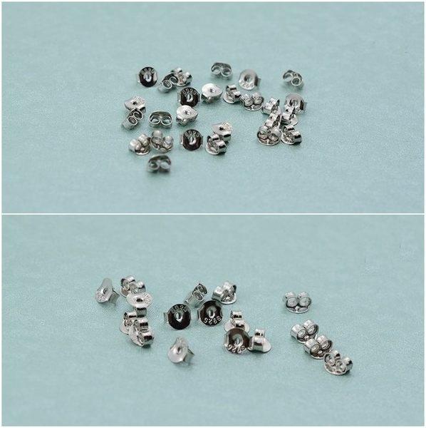 925純銀 基本款耳塞耳堵 防抗過敏 包正K金 4個(2對)價