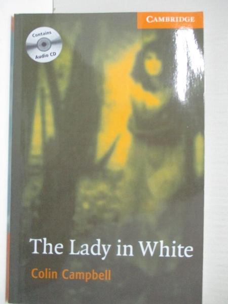 【書寶二手書T7/原文小說_IJ3】CER4: The Lady in White (BK+CD Pack)_Campbell, Colin