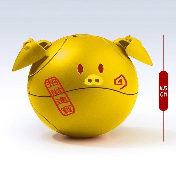鋼彈創鬥者 潛網大戰 BANDAI 組裝模型 HAROPLA 限定造型 招財豬哈囉