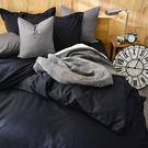 床包/單人-[素色寢具]-53101-黑...