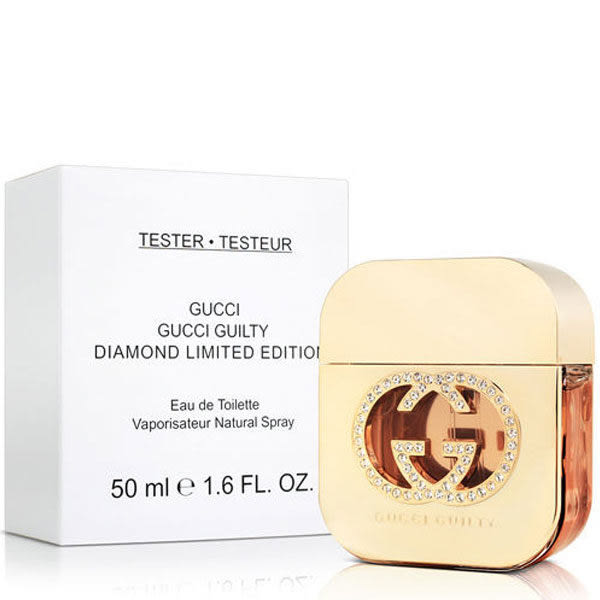 GUCCI 罪愛 鑽石限量版 女性淡香水 50ml Tester環保包裝《Belle倍莉小舖》