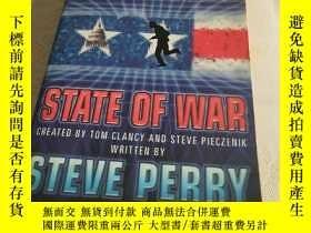 二手書博民逛書店Tom罕見Clancy s Net force State of