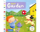Busy Garden 美麗的花園 硬頁操作拉拉書