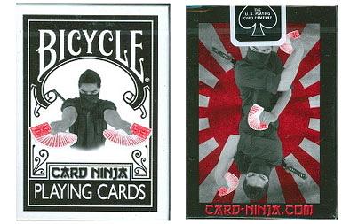 【USPCC 撲克】Bicycle NINJA deck(忍者) 撲克牌