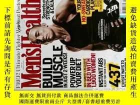 二手書博民逛書店Men s罕見Health 2011 04 健康男子外文原版時尚期刊Y114412