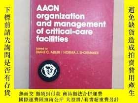二手書博民逛書店AACN罕見organization and managemen