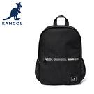 【橘子包包館】KANGOL 英國袋鼠 後背包 6025320020 黑色