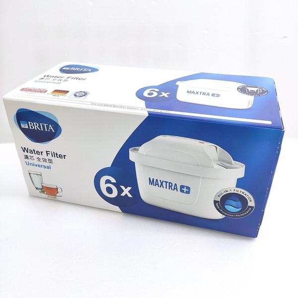 [特賣檔期 4周用濾心] BRITA MAXTRA PLUS 濾芯 6入 (和原來Maxtra 濾心相容)