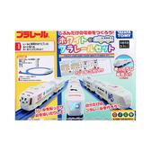 《 TAKARA TOMY 》白色彩繪列車組╭★ JOYBUS玩具百貨