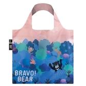 LOQI 熊讚 BRAVO 晚霞 春捲包 購物袋 手提袋