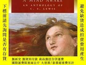 二手書博民逛書店A罕見Mind Awake: An Anthology Of C. S. Lewis-清醒的頭腦:劉易斯選集Y