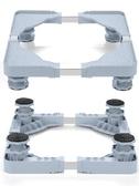 洗衣機底座托架通用置物架移動腳架墊高小天鵝海爾全自動冰箱架子 超值價