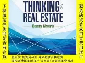 二手書博民逛書店New罕見Economic Thinking and Real EstateY410016 Danny Mye