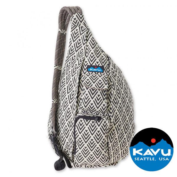 【KAVU】Rope Bag休閒斜肩背包『裝飾磁磚』923-590
